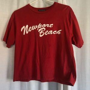 Brandy Melville Newport t shirt